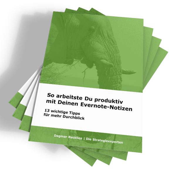 Evernote produktiv nutzen - cover