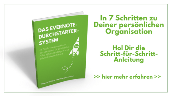 Deine funktionierende Notizen-Organisation in Evernote