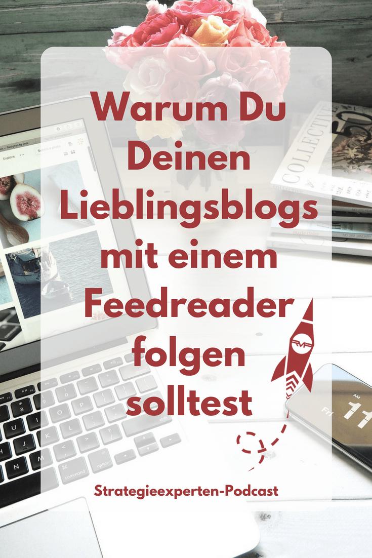 Blogs folgen mit einem Feedreader
