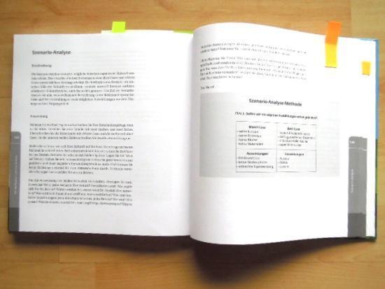 Buch Entscheidungen treffen Beispielseite