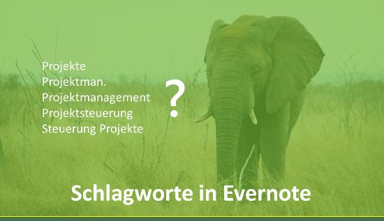 Schlagworte in Evernote richtig nutzen