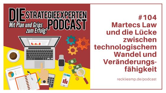 Martecs Law: Technologischer Wandel und die Veränderungsfähigkeit von Unternehmen