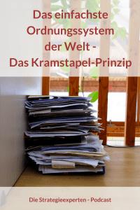 Das einfachste Ordnungssystem der Welt - Das Kramstapel-Prinzip