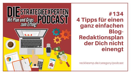 4 Tipps für einen ganz einfachen Blog-Redaktionsplan der Dich nicht einengt