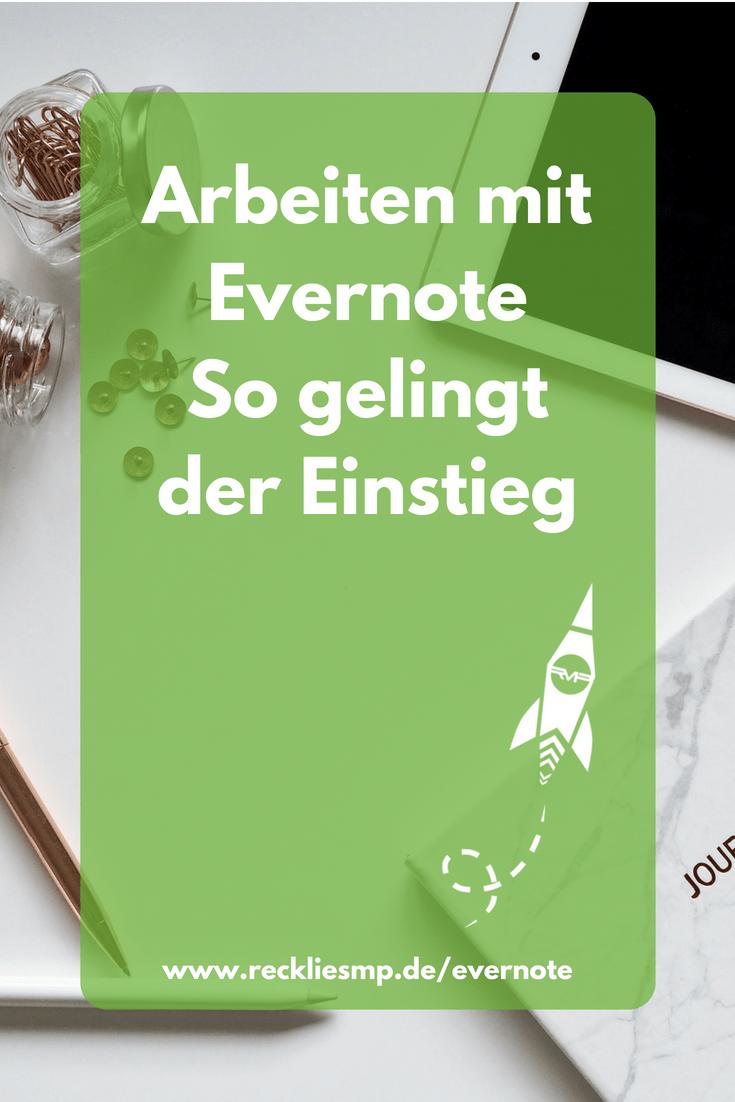 Arbeiten mit Evernote - so gelingt der Einsteig
