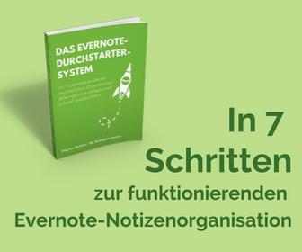 Das Evernote-Durchstarter-System