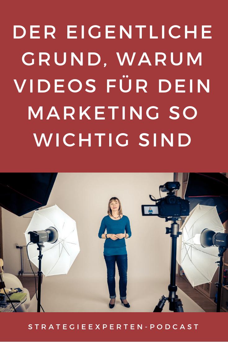 Der eigentliche Grund, warum Videos für Dein Marketing so wichtig sind
