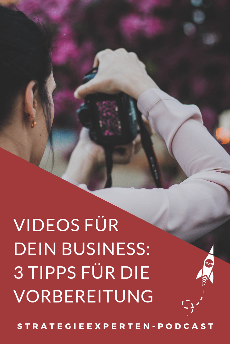 Videoaufnahmen vorbereiten - 3 Tipps für Dein Videomarketing