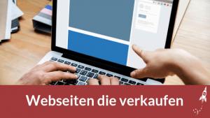 Webseiten die verkaufen