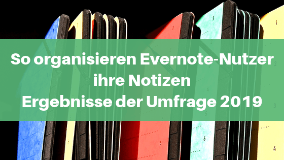 Notizenorganisation in Evernote