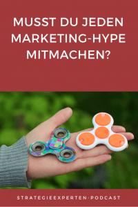 Facebook-Stories und andere Marketing-Trends - Musst Du jeden Marketing-Hype mitmachen?