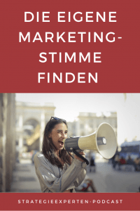 Die eigene Marketingstimme finden