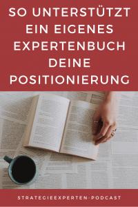 So unterstützt ein eigenes Expertenbuch Deine Positionierung
