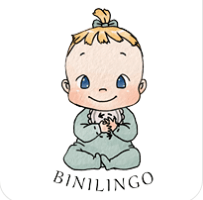 Bini - Maskottchen von Binilingo Baby- und Kleinkindergebärden